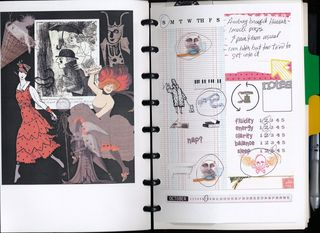 Tangible journal