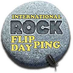 International Rock Flipping Day badge