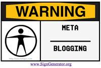 Warning: MetaBlogging
