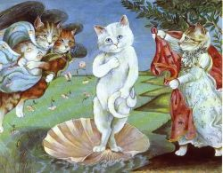 Botticelli Cat