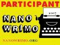 National Novel Writing Month banner