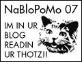 sbpoet @ NaBloPoMo