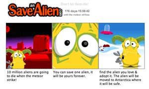 Save An Alien - cute aliens