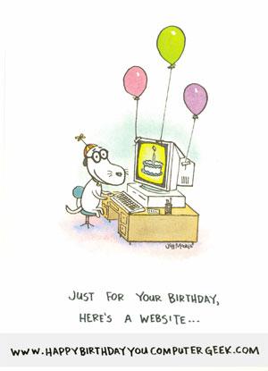 Birthday card from Davi