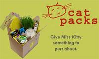 package of cat goodies