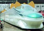 Cat-eared bullet train