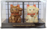Chocolate Lucky Cats