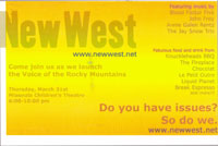 NewWest launch party invitation