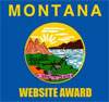 Montana Website Awards button